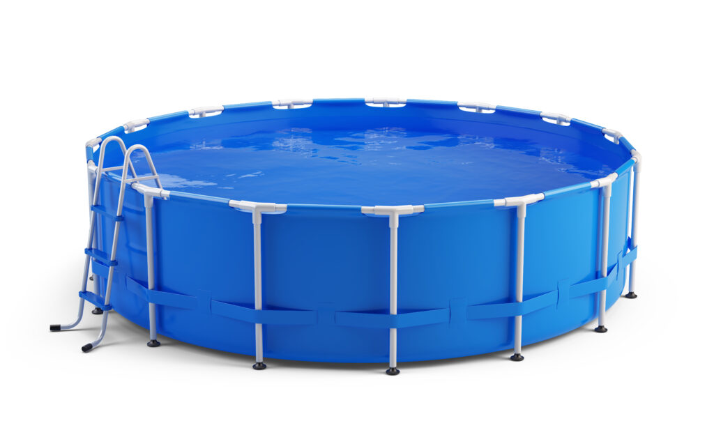 opblaasbare zwembad